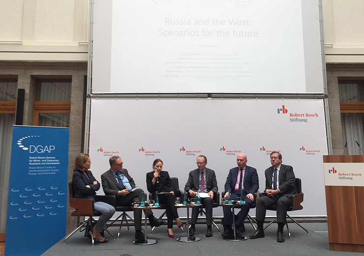 Bosch Foundation Berlin Discusses Prospects for Relations between Russia and the West
