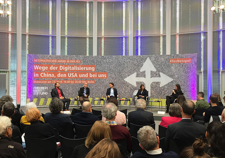 The Ebert Berlin Foundation Talked about the Features of Digitalization in China, the USA and Germany
